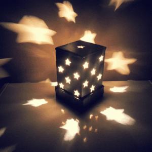 DIY, Karton Kutudan Abajur Yapılışı 13