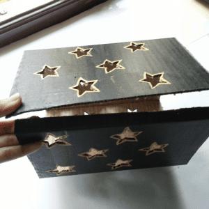DIY, Karton Kutudan Abajur Yapılışı 15