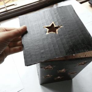 DIY, Karton Kutudan Abajur Yapılışı 1