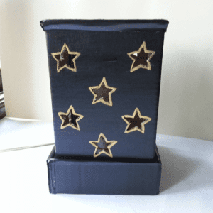 DIY, Karton Kutudan Abajur Yapılışı 7