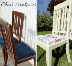 DIY, Ahşap ve Kumaş Sandalye Yenileme