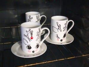 DIY, Porselen Kupa Boyama Yapılışı 1