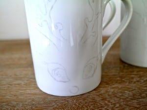 DIY, Porselen Kupa Boyama Yapılışı 6