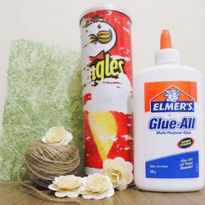 DIY, Pringles Kutusu Süsleme 13