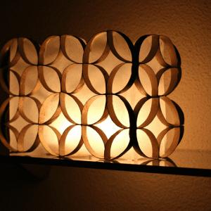 DIY, Tuvalet Kağıdı Rulosundan Lamba Yapılışı