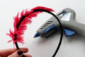 DIY, Tüylü Saç Bandı Yapılışı 9