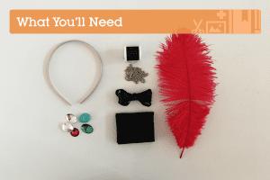 DIY, Tüylü Saç Bandı Yapılışı