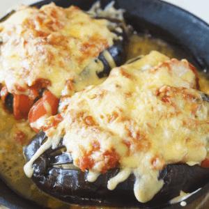 Domates Ve Peynirle Fırında Patlıcan 9