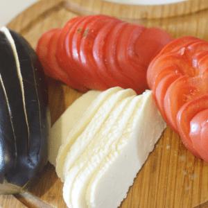 Domates Ve Peynirle Fırında Patlıcan 12