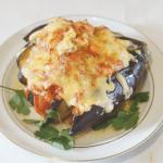 Domates Ve Peynirle Fırında Patlıcan 6