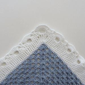 Kare Bebek Battaniyesi Yapılışı 13
