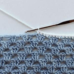 Kare Bebek Battaniyesi Yapılışı 1