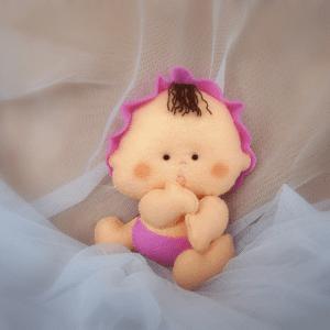 Keçe Bebek Yapılışı 12