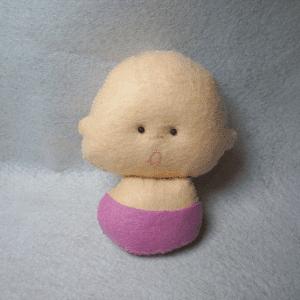 Keçe Bebek Yapılışı 18