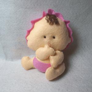Keçe Bebek Yapılışı 23