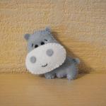 Keçe Hipopotam Yapılışı 2