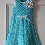 Kız Bebeklere Örgü Elbise Modelleri 113