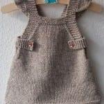 Kız Bebeklere Örgü Elbise Modelleri 120