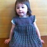 Kız Bebeklere Örgü Elbise Modelleri 129