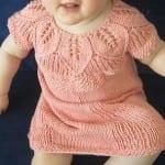 Kız Bebeklere Örgü Elbise Modelleri 132