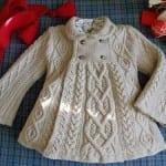 Kız Bebeklere Örgü Elbise Modelleri 139