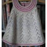 Kız Bebeklere Örgü Elbise Modelleri 145