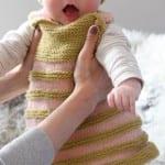 Kız Bebeklere Örgü Elbise Modelleri 153