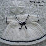 Kız Bebeklere Örgü Elbise Modelleri 154