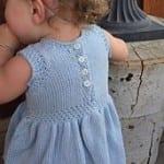 Kız Bebeklere Örgü Elbise Modelleri 168