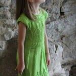 Kız Bebeklere Örgü Elbise Modelleri 171