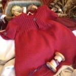 Kız Bebeklere Örgü Elbise Modelleri 175