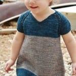 Kız Bebeklere Örgü Elbise Modelleri 182