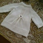 Kız Bebeklere Örgü Elbise Modelleri 189