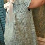 Kız Bebeklere Örgü Elbise Modelleri 27