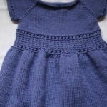 Kız Bebeklere Örgü Elbise Modelleri 35