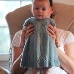 Kız Bebeklere Örgü Elbise Modelleri 55
