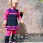 Kız Bebeklere Örgü Elbise Modelleri 60