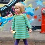 Kız Bebeklere Örgü Elbise Modelleri 61