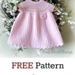 Kız Bebeklere Örgü Elbise Modelleri 71
