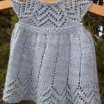 Kız Bebeklere Örgü Elbise Modelleri 85