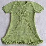 Kız Bebeklere Örgü Elbise Modelleri 88