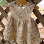 Kız Bebeklere Örgü Elbise Modelleri 89
