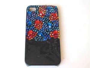 Kristal Taşlarla Telefon Kılıfı Yapılışı 10