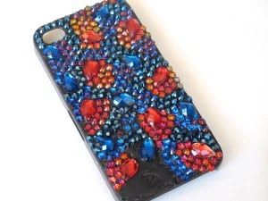 Kristal Taşlarla Telefon Kılıfı Yapılışı 13