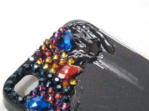 Kristal Taşlarla Telefon Kılıfı Yapılışı 7