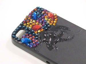 Kristal Taşlarla Telefon Kılıfı Yapılışı 8