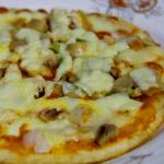 Mantarlı Tavuklu Kolay Pizza Yapılışı