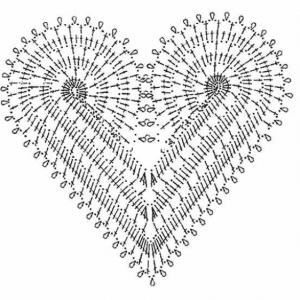 Örgü Kalp Yapılışı 5