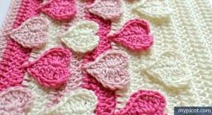 Örgü Kalpli Battaniye Yapılışı 16
