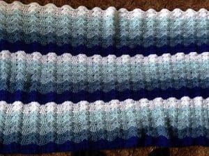 Renkli Bebek Battaniyesi Yapılışı 33